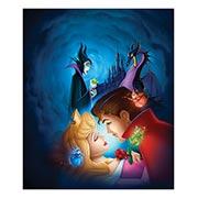 Хардпостер (на твёрдой основе) Sleeping Beauty